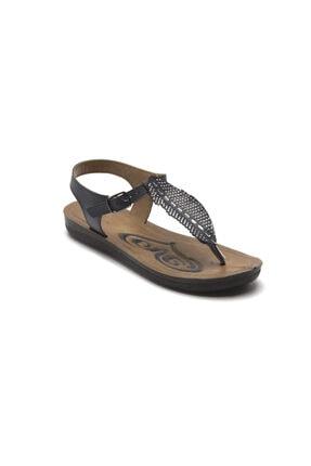 Prive Kadın Siyah Sandalet