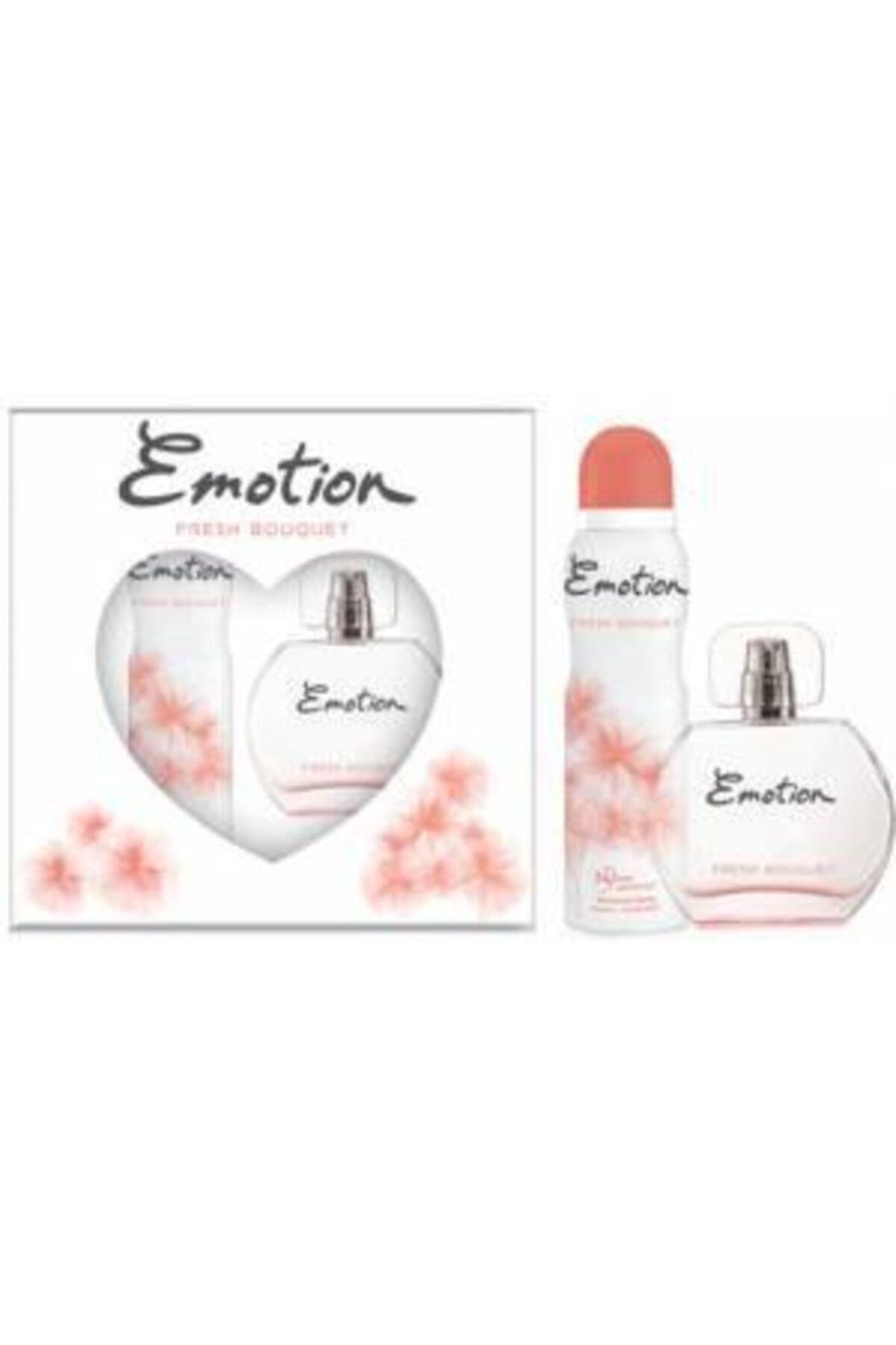 Emotion Fresh Bouqlet Bayan Edt 50 Ml + 150 Ml Deodorant Parfüm Seti 1