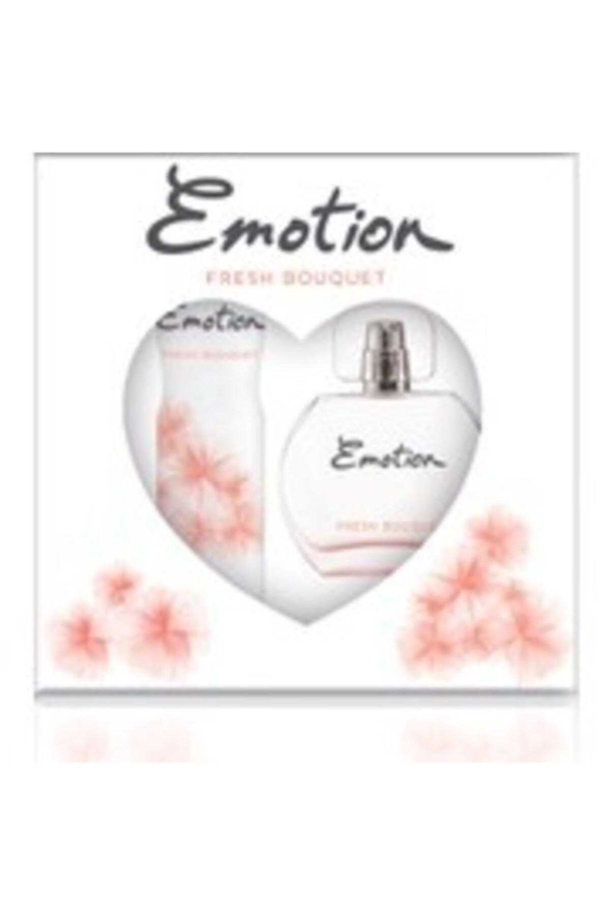 Emotion Fresh Bouqlet Bayan Edt 50 Ml + 150 Ml Deodorant Parfüm Seti 2