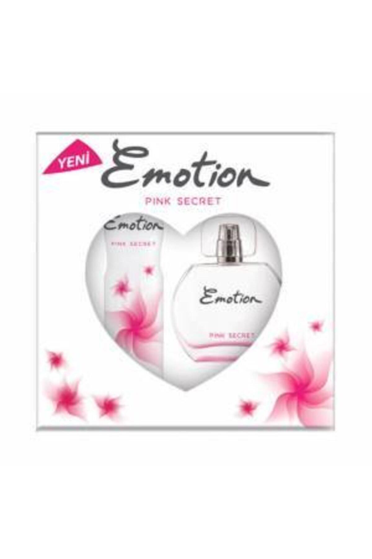 Emotion Pınk Secret Bayan Edt 50 Ml + 150 Ml Deodorant Parfüm Seti 2