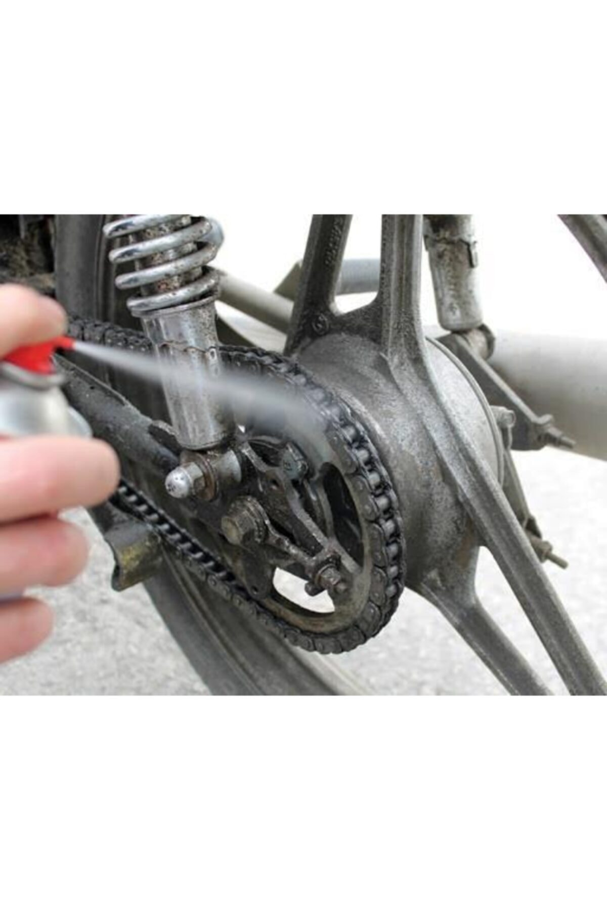 MxS Bisiklet Zincir Yağı (kararmaz Yapmaz; Yapışma Olmaz) 400 Ml 2