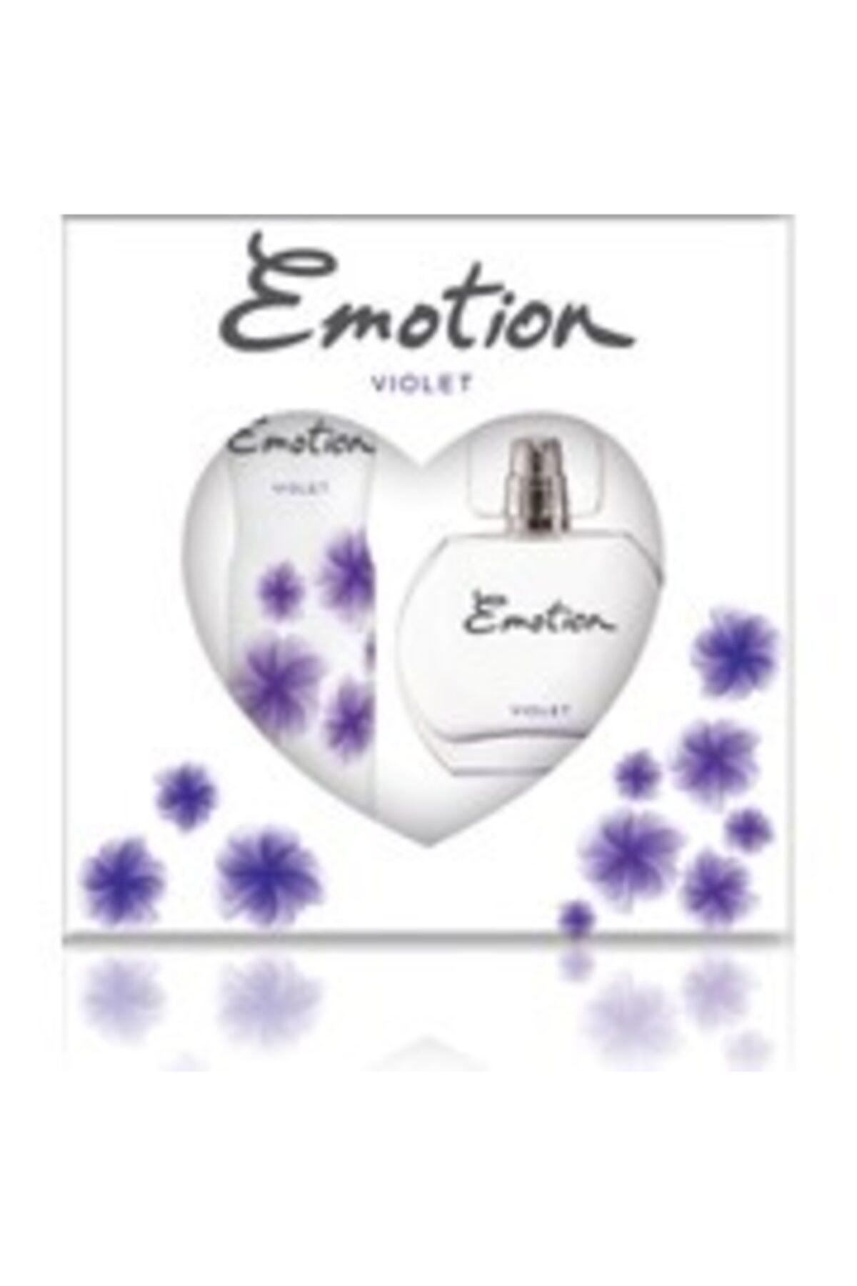 Emotion Vıolet Bayan Edt 50 Ml + 150 Ml Deodorant Parfüm Seti 2