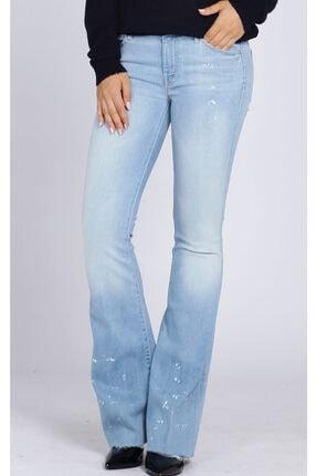 Mother Kadın Mavi Jean Pantolon