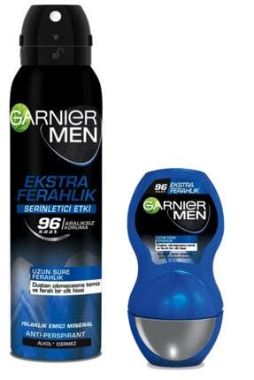 Garnier Deodorant Rollon Seti Erkeklere Özel Men Ekstra Ferahlık Roll-on+men Ekstra Ferahlık Aerosol