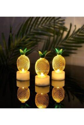 Gift Moda Mini Ananas Gece Lambası 3'Lü