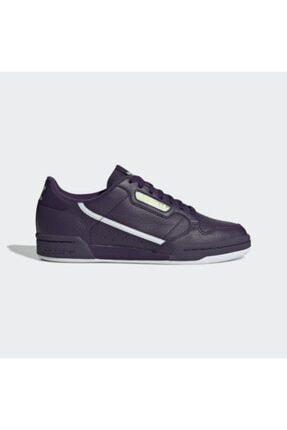 adidas Unisex Mor Continental 80 W Günlük Spor Ayakkabı