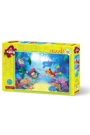 Art Puzzle Dalgıç Çocuklar 50 Parça 5+ Yaş Puzzle