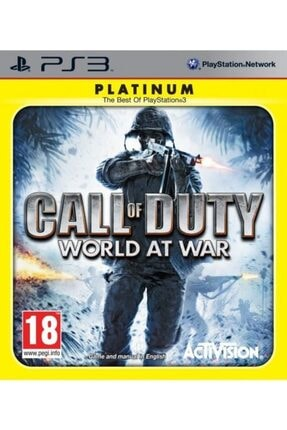ACTIVISION Ps3 Call Of Duty World At War