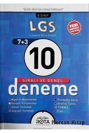Rota Yayınları Lgs 10 Sıralı Ve Genel Deneme