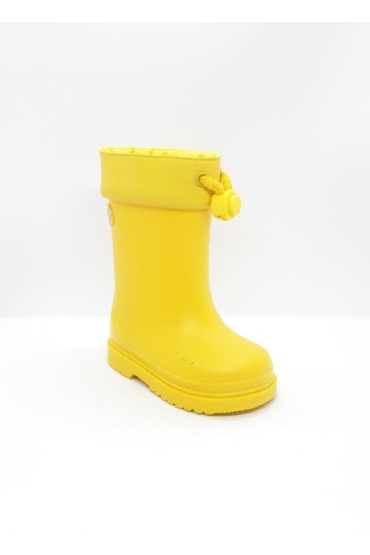 IGOR Çocuk Sarı Chufo Sarı Su Geçirmez Yağmur Çizmesi 2