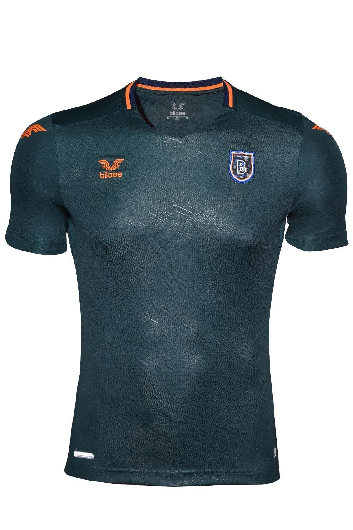 bilcee Başakşehir Yeşil Antrenman T-Shirt BS-3476 1