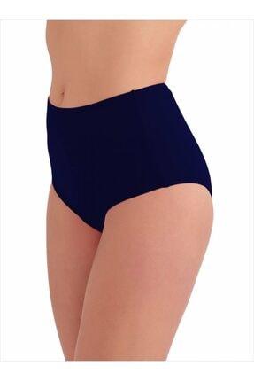 AYYILDIZ Kadın Lacivert Yüksek Bel Bikini Altı
