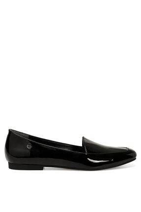 Nine West MELANIT2 Siyah Kadın Loafer Ayakkabı 101012217