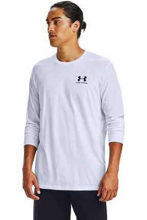 Under Armour Erkek Spor T-Shirt - Ua Sportstyle Left Chest Ls - 1329585-100