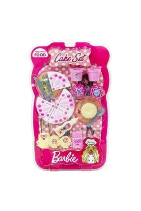 Uçar Oyuncak Barbie Pasta Seti