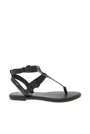 Tommy Hilfiger Siyah Kadın Sandalet 504498245
