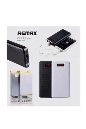 First Class Remax Proda 30.000 Mah Dijital Ekran Powerbank Taşınabilir Şarj