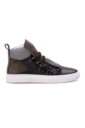 Pegia Kadın Siyah Hakiki Deri Sneaker La1308