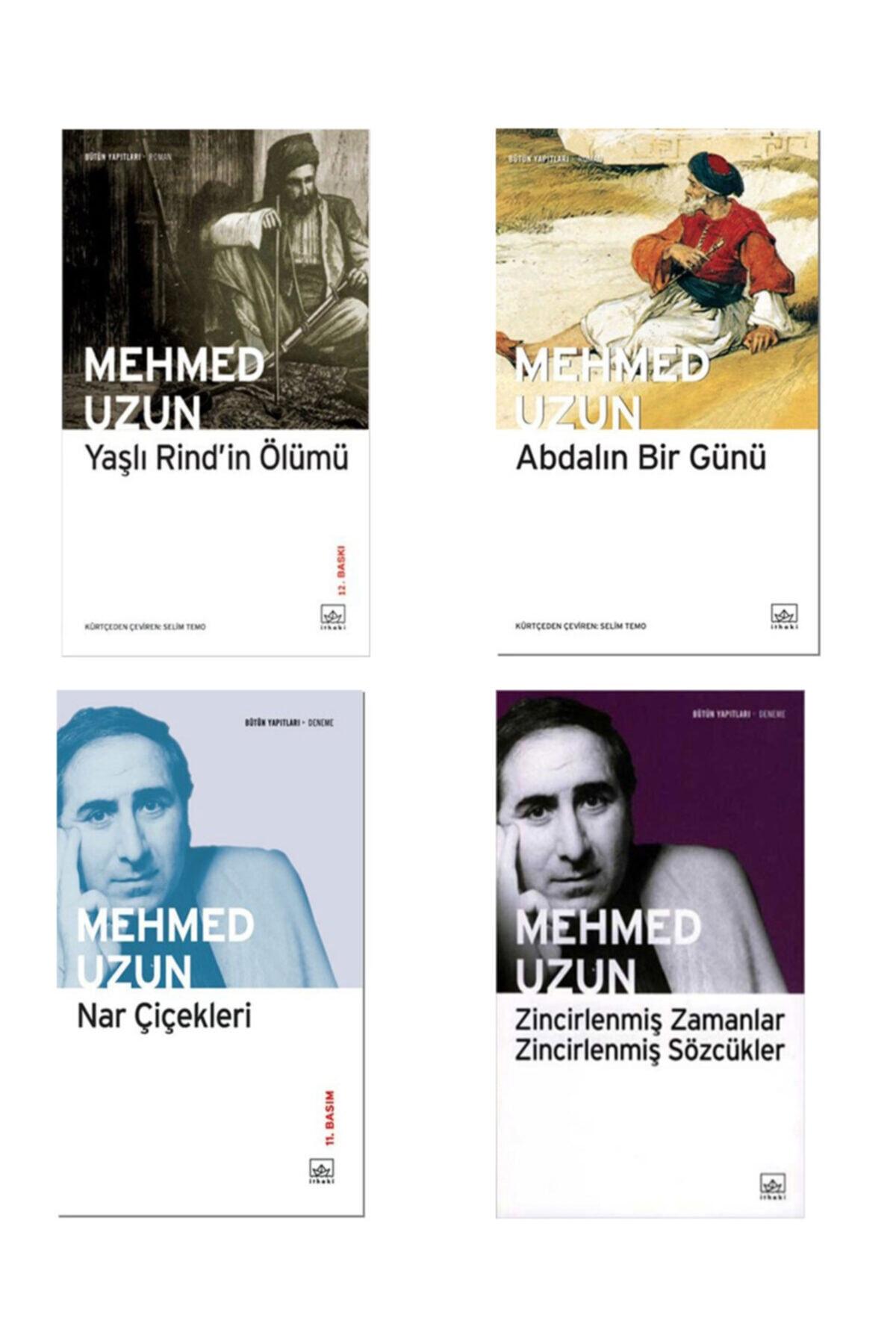 İthaki Yayınları Mehmed Uzun 4 Kitap Set Yaşlı Rind'in Ölümü Abdalın Bir Günü Nar Çiçekleri 1