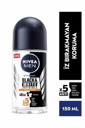 Nivea Men B&w Invisible Güçlü Etki 48h Etki 50 ml