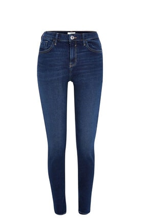 River Island Dark Blue Amelıe Süper Skinny Jeans