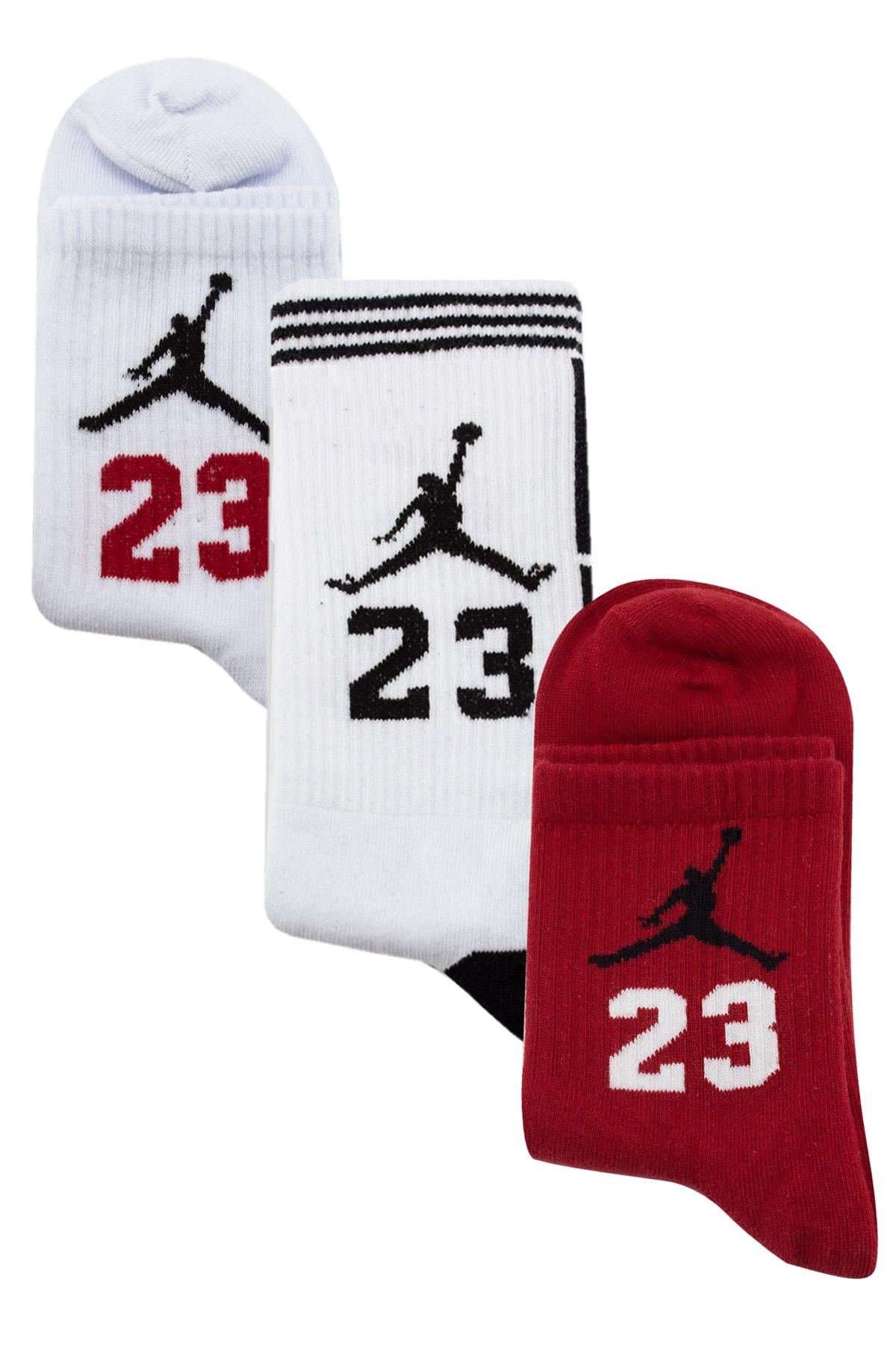 Socksarmy Jordan Desenli Çorap Seti 3 'lü 1