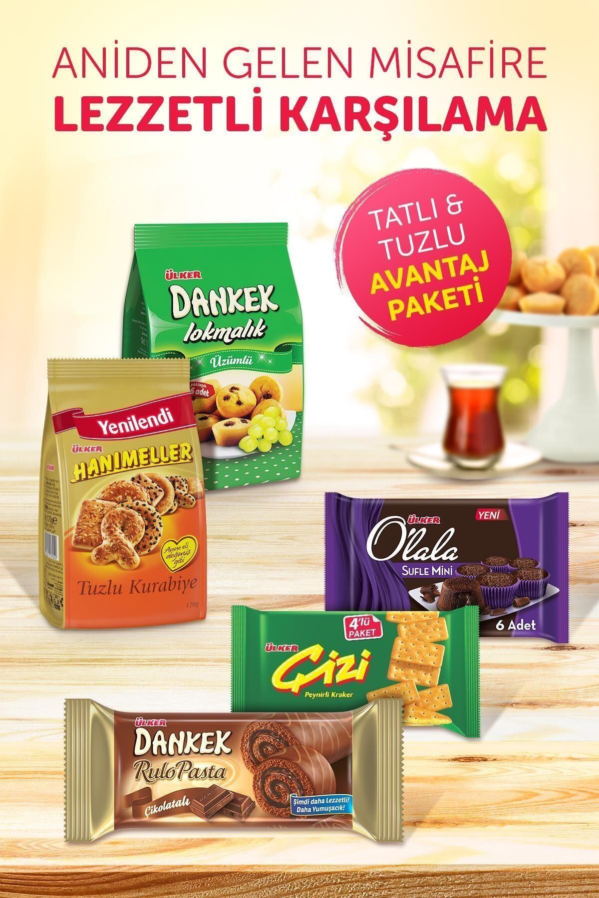 Ülker Tatlı & Tuzlu Avantaj Paketi 1