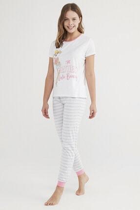 Penti Çok Renkli Lola Bunny Kısa Kollu Pijama Takımı