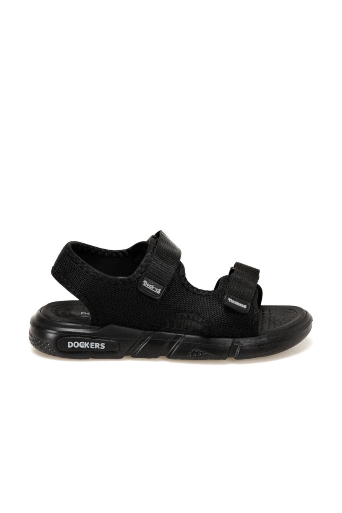 Dockers By Gerli 228650 Siyah Erkek Sandalet 100497772 2
