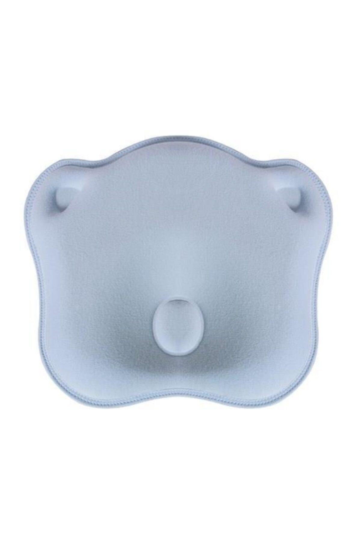 Sevi Bebe Mavi Düz Kafa Yastığı  Kafa Şekillendirici Yastık Art-155 1
