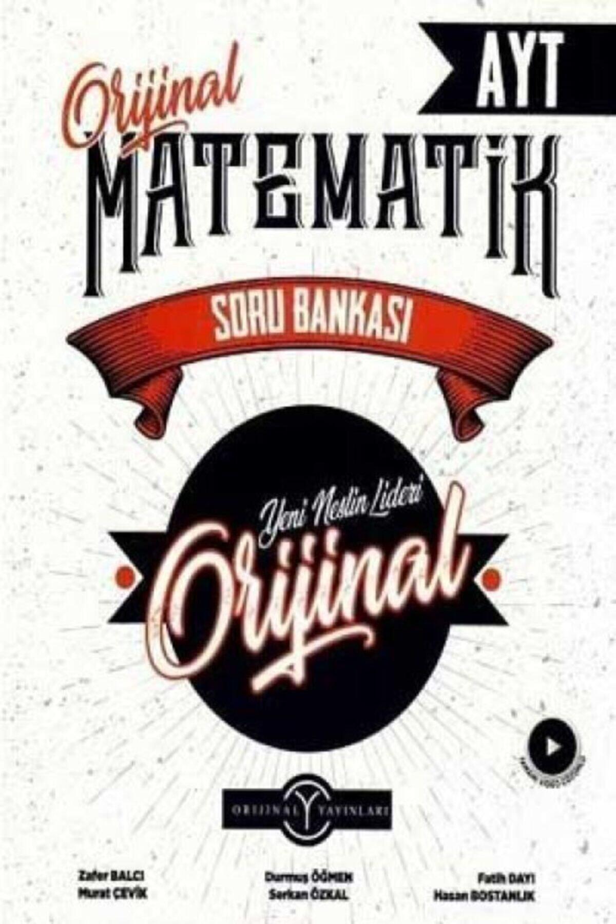 orjinal yayınları Ayt Orijinal Matematik Soru Bankası 1