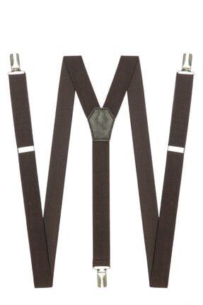 DWOY Kahverengi Ince Pantolon Askısı