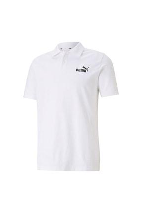 Puma Erkek Tişört Polo Yaka Ess Pique - Beyaz
