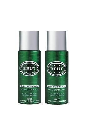 Brut Original Erkek Deodorant 200 ml 2 Adet