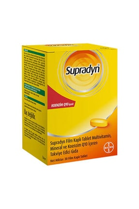 Supradyn All Day Koenzim Q10 30 Tablet