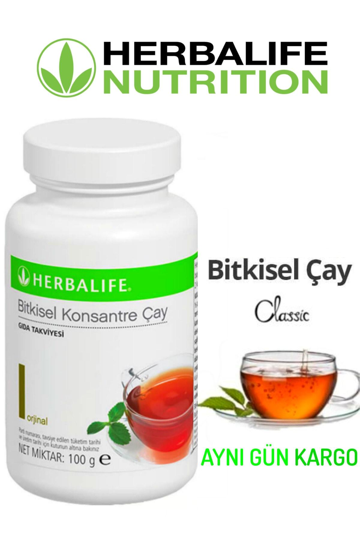 Herbalife 100gr Bitkisel Konsantre Aromalı Çay (Klasik) 1