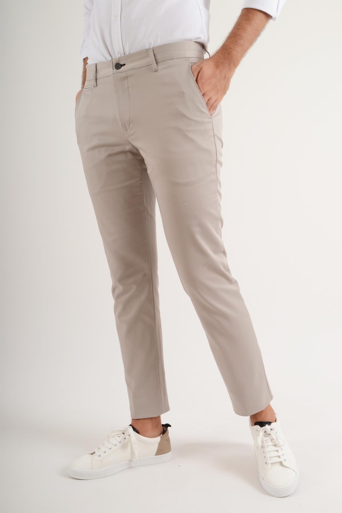 Luppo Club Günlük Kumaş Taş Erkek Pantolon Salacak 1