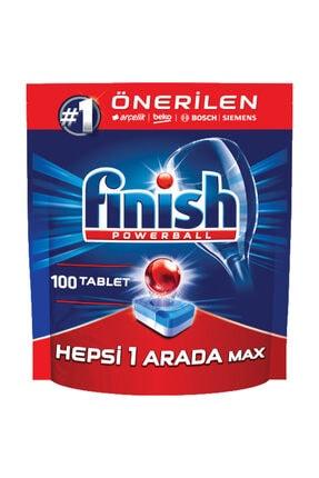 Finish Hepsi Bir Arada 100 Tablet Bulaşık Makinesi Deterjanı