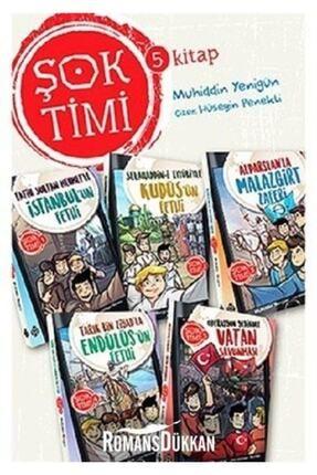 Uğurböceği Yayınları Şok Timi Seti 5 Kitap Takım