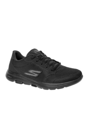 SKECHERS GO WALK 5 - LUCKY Kadın Siyah Yürüyüş Ayakkabısı