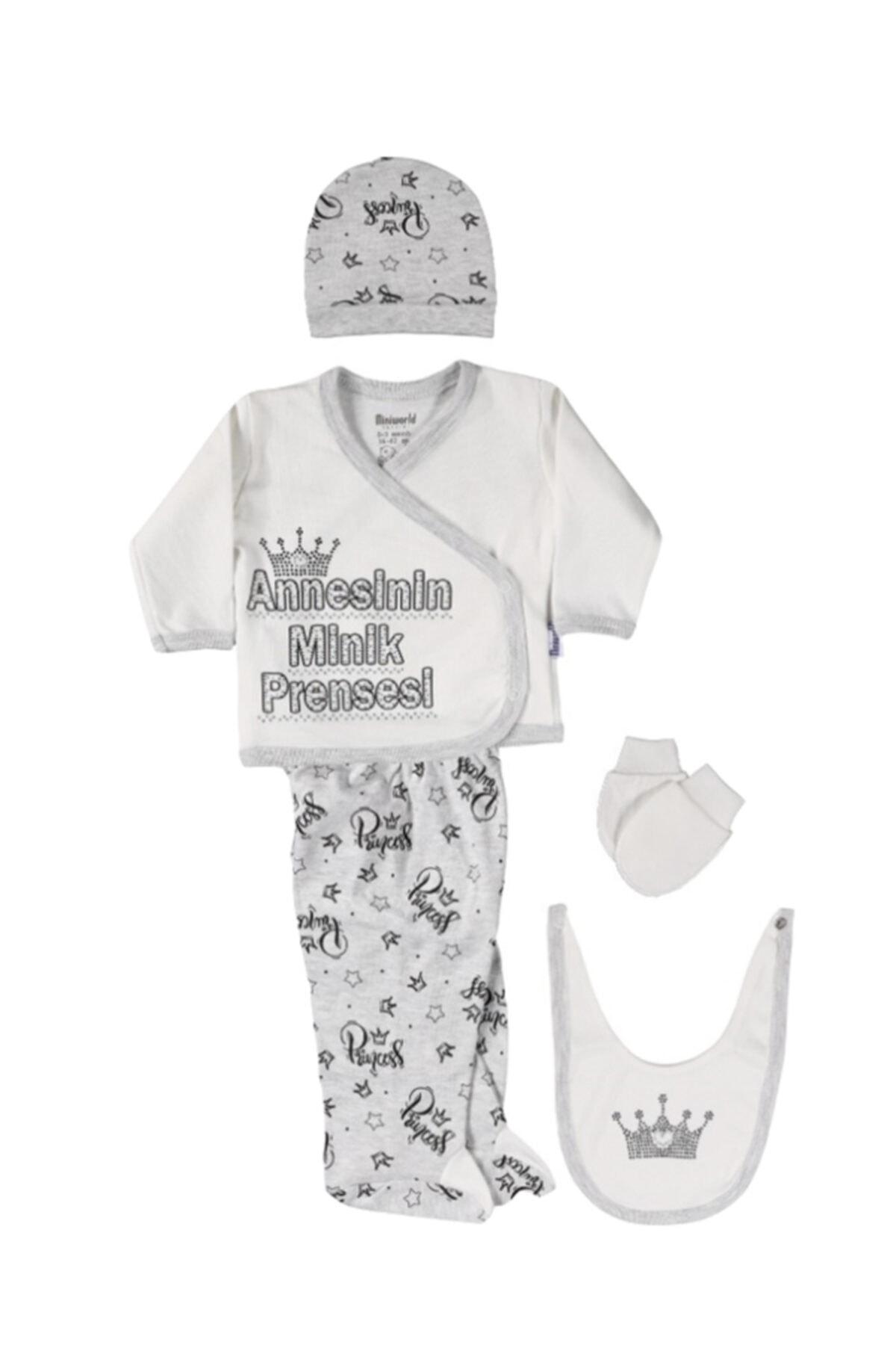 Miniworld Kız Annesinin Minik Prensesi 5 Parça Zıbın 15142 1