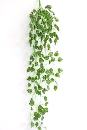 Yapay Çiçek Deposu Sarkan Yapay Sarmaşık 9 Dal Çizgili Model 90 Cm
