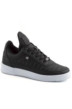 L.A Polo 07 Siyah Beyaz Dikişli Taban Unisex Spor Ayakkabı
