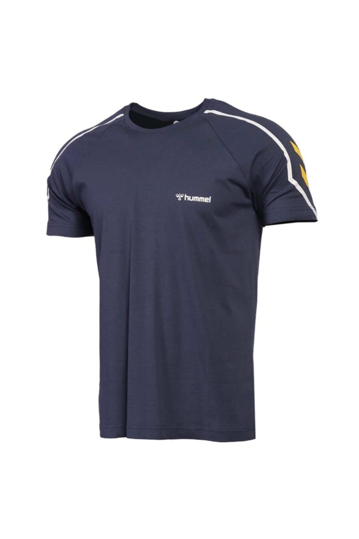 HUMMEL Erkek Mavi Hmladmon T-shirt 1