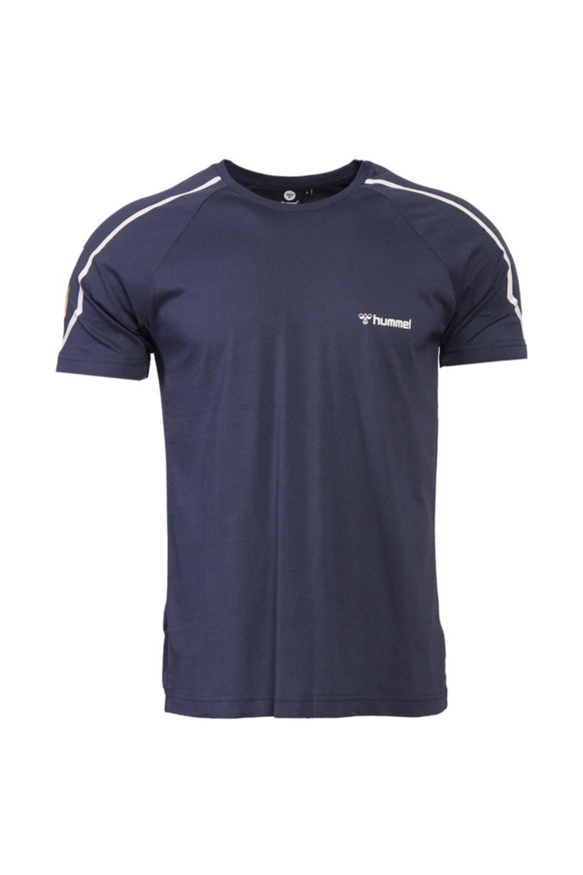 HUMMEL Erkek Mavi Hmladmon T-shirt 2