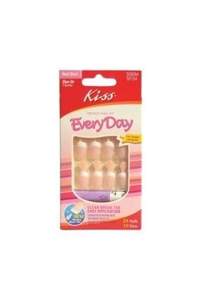 Kiss Yapıştırıcılı Takma Tırnak Seti  Sf04 -731509506846