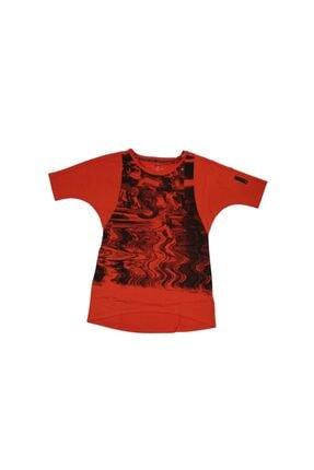 adidas Kadın Tişörtü Kırmızı Cc Graphic Tee G70798