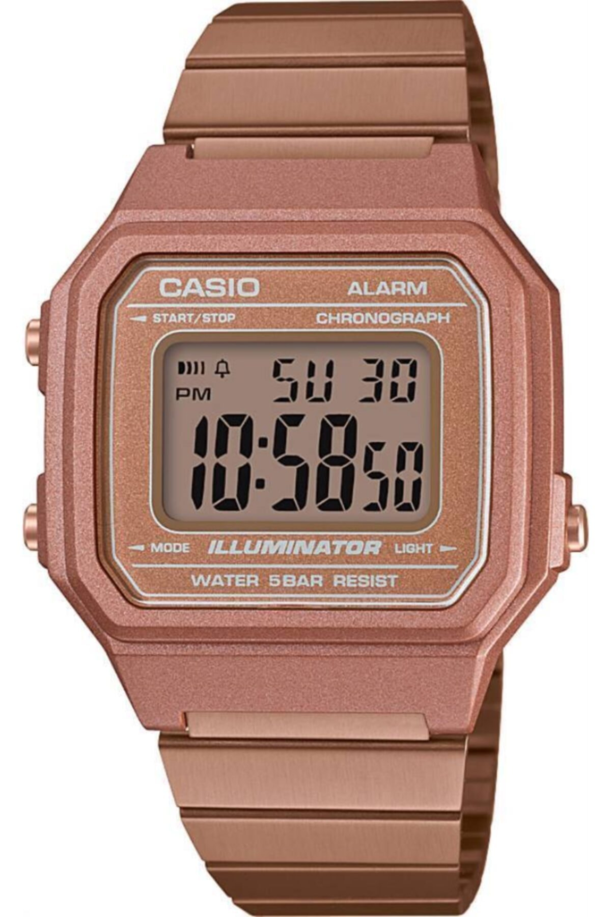 Casio Erkek Rose Gold Kol Saati B650wc-5adf 1