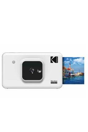 Kodak Mini Shot Combo 2 - Anında Baskı Dijital Fotoğraf Makinesi - Beyaz