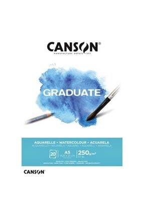 Canson Sulu Boya Bloğu Graduate 20 Sy A5 250 Gr